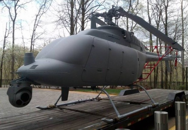 Next generation UAV to spy on Americans? We have obtained a photograph of an unmarked gray helicopter drone manufactured by Northrop Grumman which could be used to spy on Americans domestically. The image...