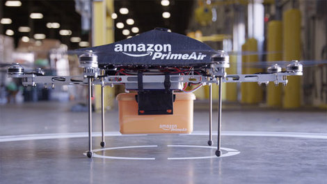 "Amazon has unveiled ""Prime Air,"" a drone delivery system that they promise will get packages into customers' hands in 30 minutes or less. CEO Jeff Bezos made the announcement in a ""60 Minutes..."