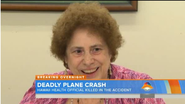 The health director who approved the release of President Obama's birth certificate has died in a plane crash, Hawaiian officials said Thursday. Loretta Fuddy died after the Cessna Grand Caravan aircraft...