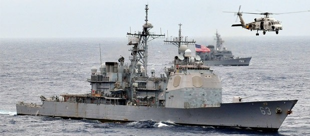 A Chinese naval vessel tried to force a U.S. guided missile warship to stop in international waters recently, causing a tense military standoff in the latest case of Chinese maritime harassment, according...