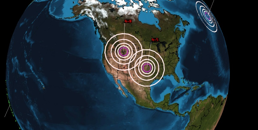 (updated March 31, 2014 , 1045pm CT) Over the past several days ( up to March 31 currently) , a noticeable increase in seismic activity has occurred across the Western United States. Specifically, a swarm...