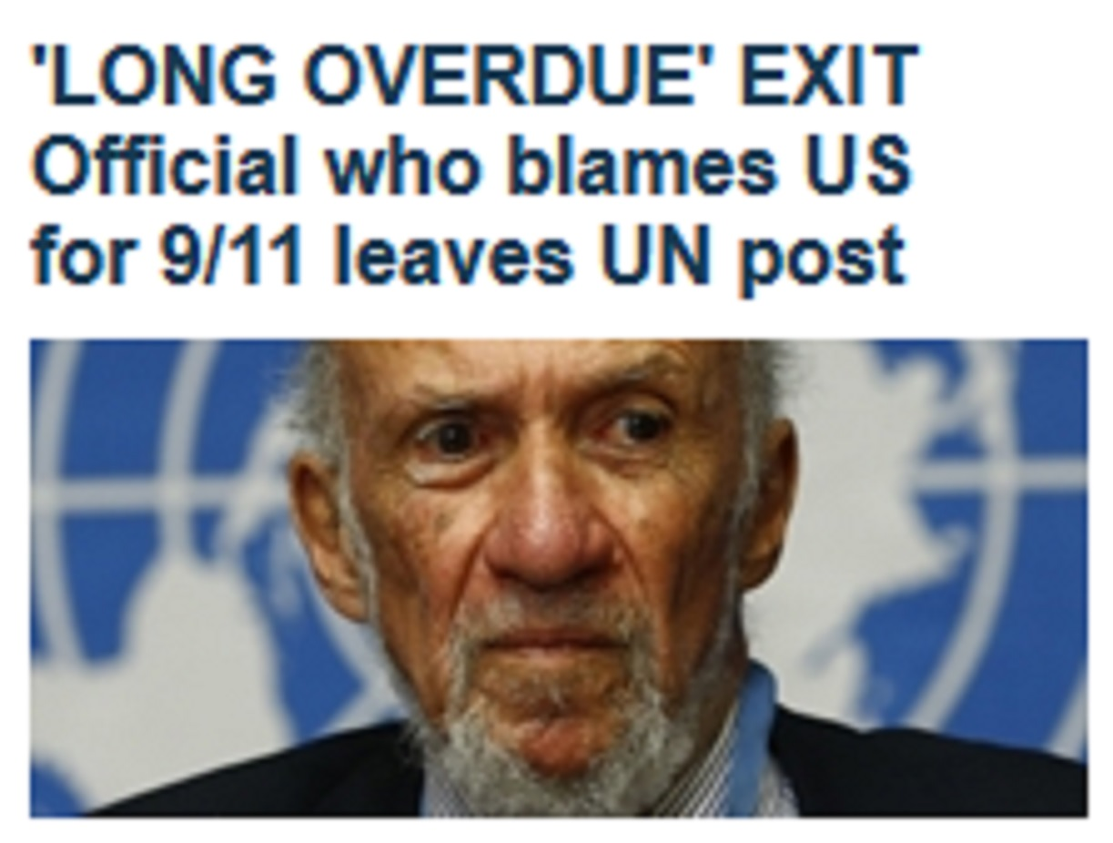 A controversial United Nations official renowned for his anti-semitism, praise of Ayatollah Khomenei and 9/11 conspiracies is leaving the world body, and the U.S. and Israel agree that's...